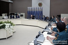 Minister of Emergency Situations introduced the newly appointed Deputy Karen Sarukhanyan