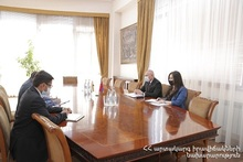 Minister of ES received the Ambassador Extraordinary and Plenipotentiary of India