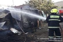 Пожар в селе Камарис