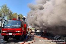 Пожар на улице Грибоедова