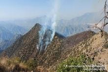Пожар на территории национального парка «Аревик»