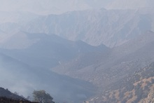 «Արևիք» ազգային պարկի տարածքում հրդեհաշիջման աշխատանքները ժամանակավորապես դադարեցվել են