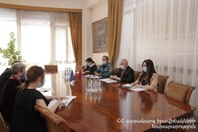 ES Minister received the Delegation of the European Union