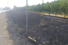 Firefighters extinguished fires broken out in the area of about 21.1 ha in total