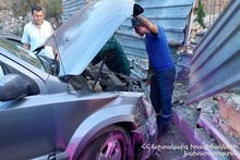 RTA at the end of Gyurjyan street: there was a casualty