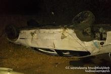 ДТП на автодороге Ереван-Севан: есть пострадавший