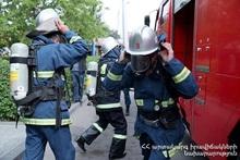 На автодороге Татев-Капан сгорел автомобиль