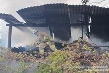 Fire in Getap village