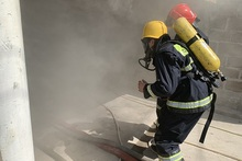 Firefighters extinguished the fires