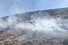 Firefighters extinguished fires broken out in the area of about 6.1 ha in total