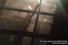 Fire in Lusakunk village