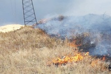 Firefighters extinguished fires broken out in the area of about 4․1 ha in total