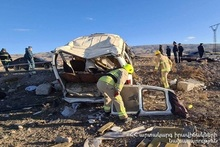 RTA on Yerevan-Gyumri roadway: there were casualties and victims