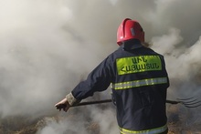 Վազաշեն գյուղում այրվել է անասնակեր