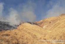 Fire in Zangakatun village