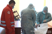 ICRC implemented a training course for the rescuers