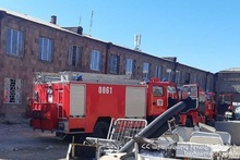 Пожар в подвале ЗАО «Национальный центр охраны психического здоровья»