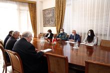 ԱԻ նախարարն ընդունել է  Հայաստանում Լեհաստանի արտակարգ և լիազոր դեսպանին