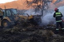 Սվերդլով գյուղում այրվել է անասնակեր